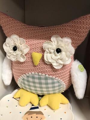 Knit Owl Doll