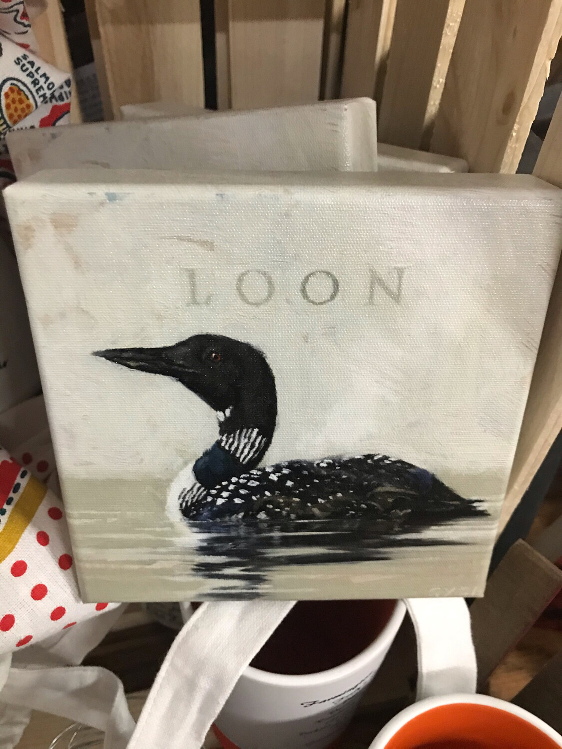 Giclee Loon Canvas