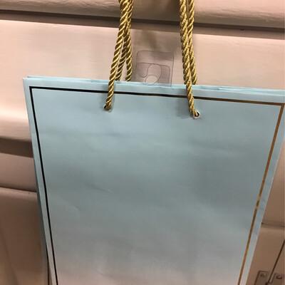 Blush Blue Bag
