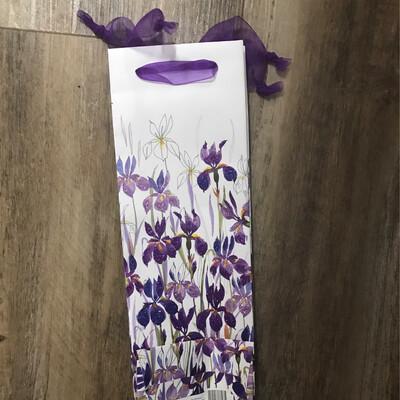Tote Bag Bottle Iris