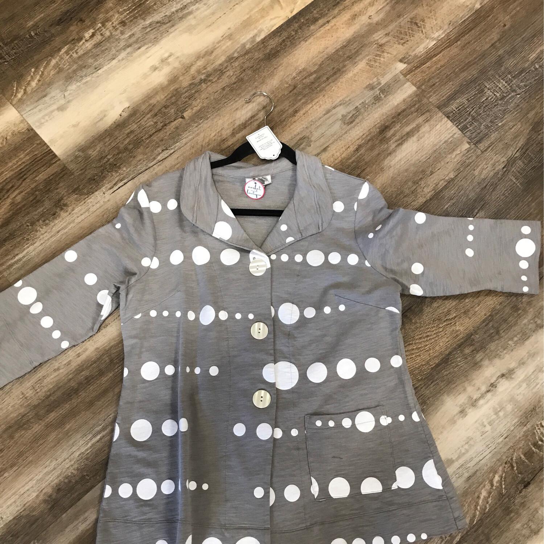 Taupe Dot Jacket