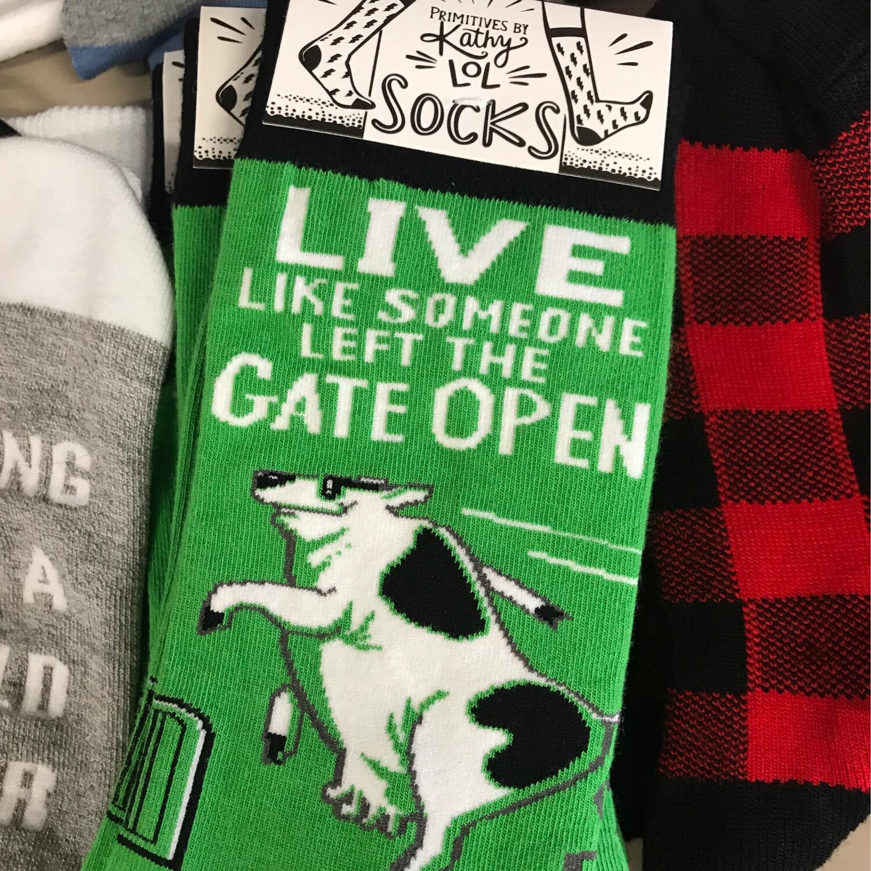 Gate Open Socks