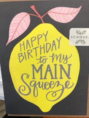 Main Squeeze Birthday