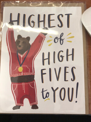 Highest of High FIves Card
