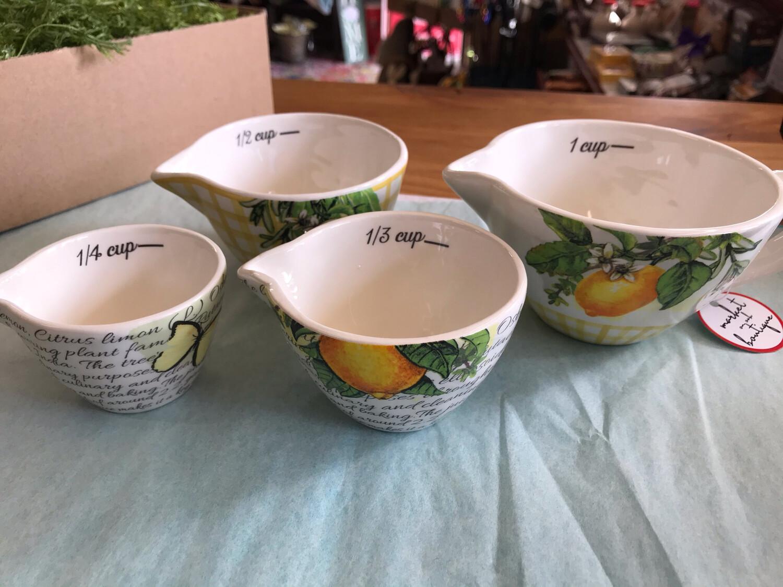 Lemons Measuring Cups