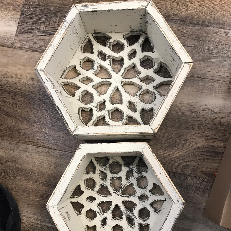 Mini Honeycomb Shelf