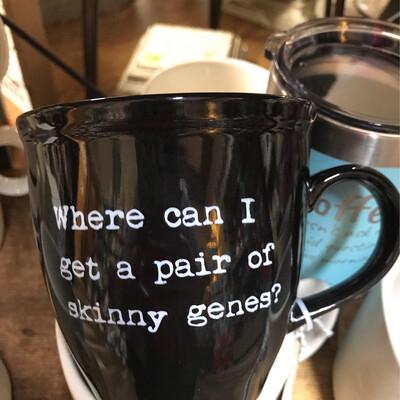 Skinny Genes Mug