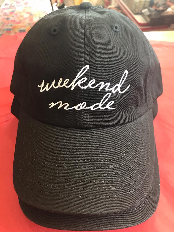 Weekend Mode Ball Cap