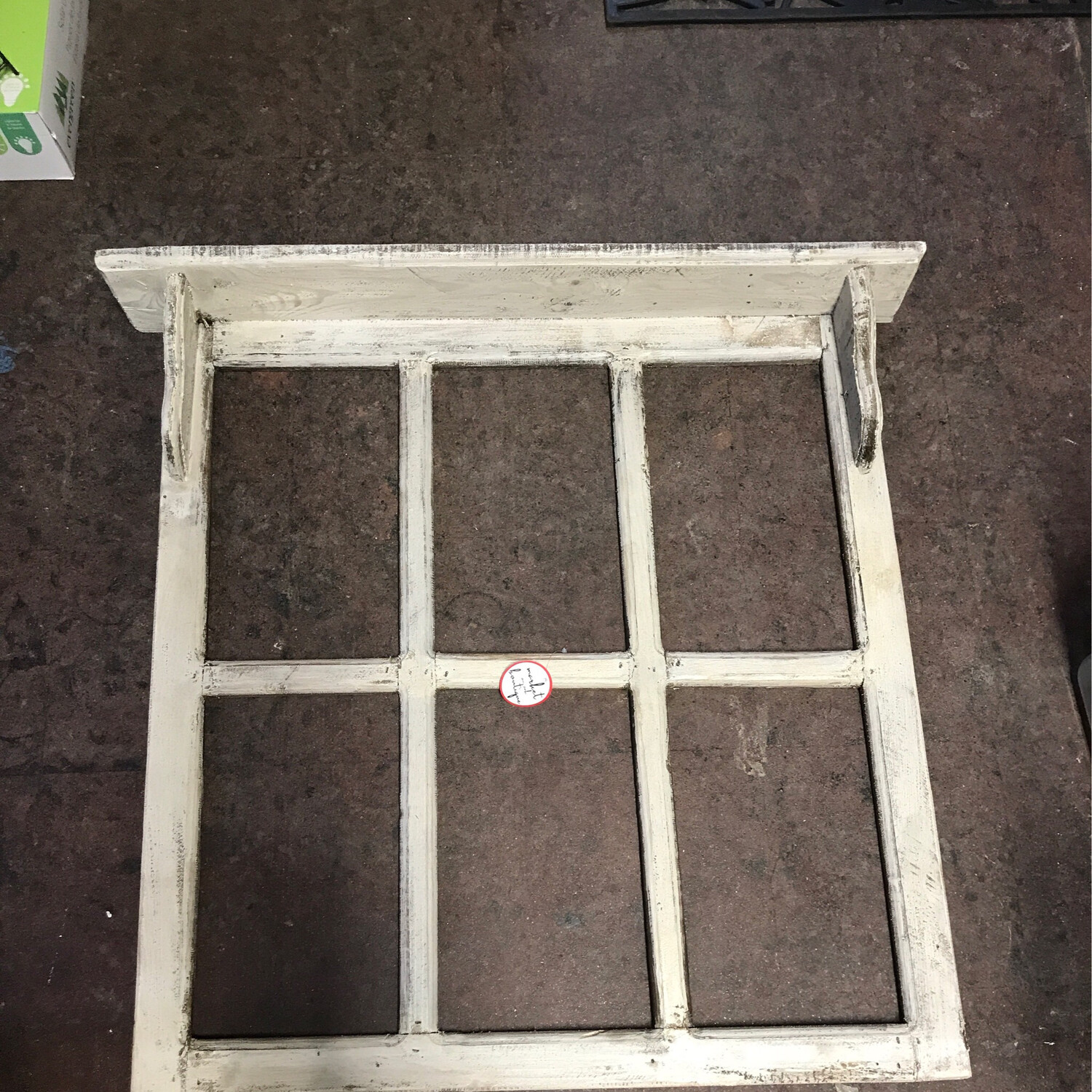 Brindisi Window w/Crown