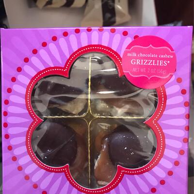 2oz Cashew Grizzly Box
