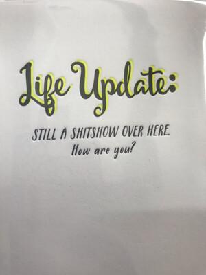 Life Update Card