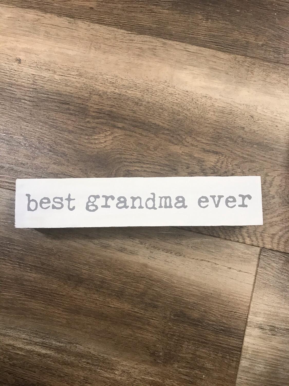 Best Grandma Sitter Sign