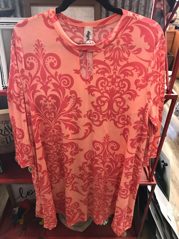 Coral Pocket Dress