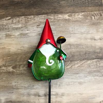 "36"" Secret Solar Gnome Stake"