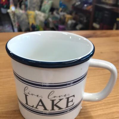 Love Lake Camp Mug
