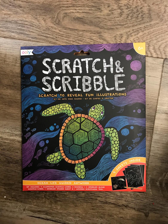 Scratch & Scribble Ocean