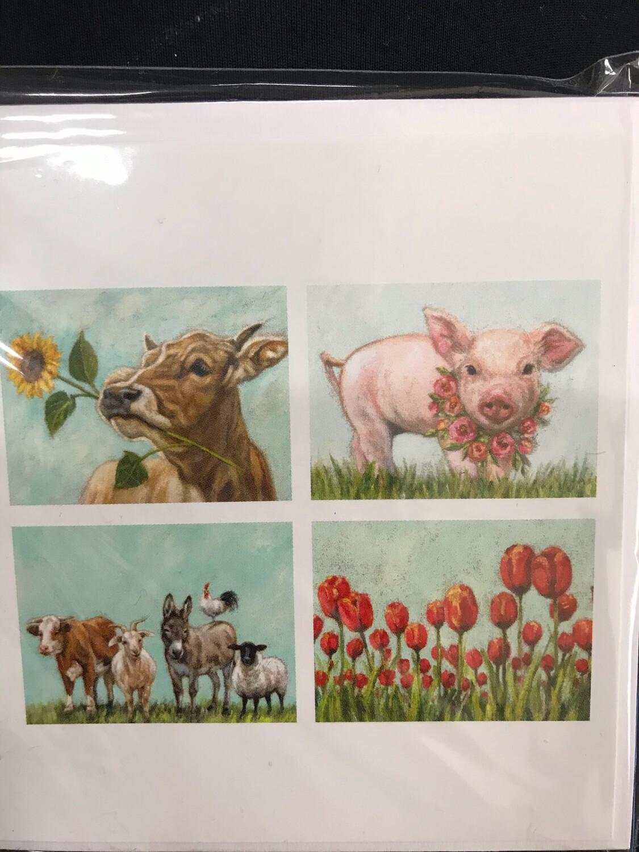 Farm Notecards