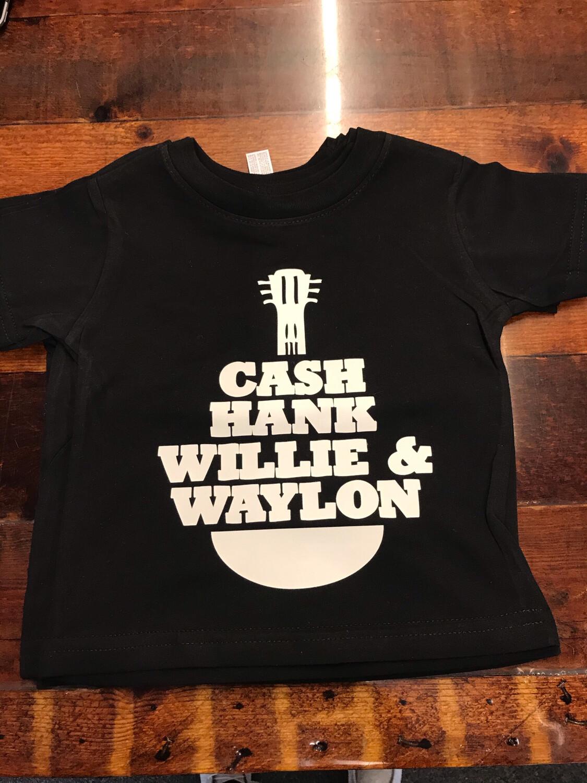 Cash, Hank, Willie & Waylon