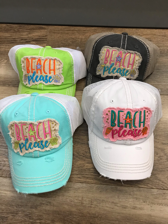 Beach Please Trucker