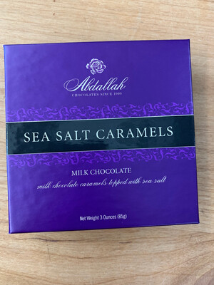 3oz Milk Chocolate Sea Salt Caramels