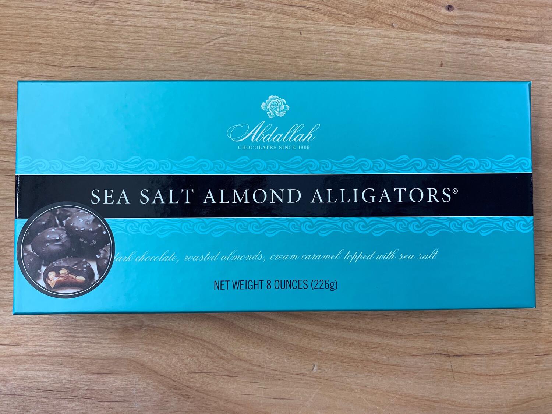 8oz Sea Salt Almond Alligators