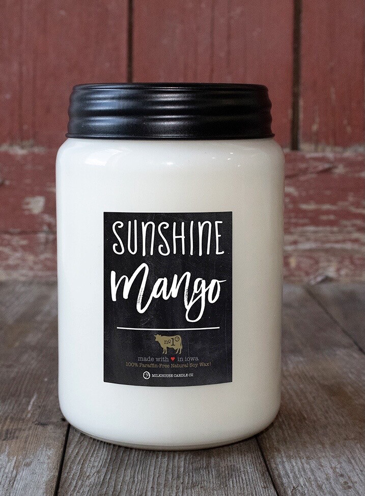 Sunshine Mango 26oz Apothecary