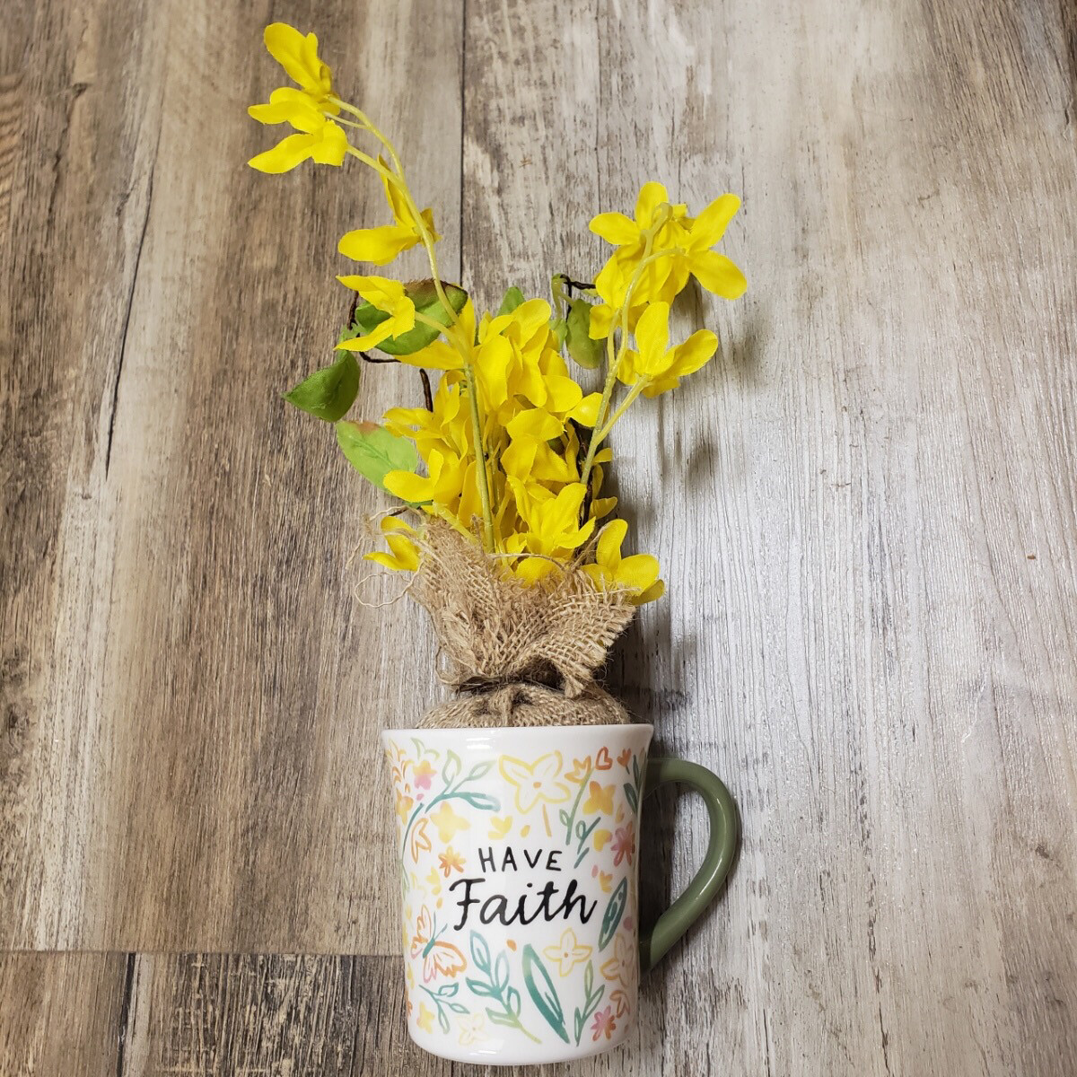 Floral Mug Set