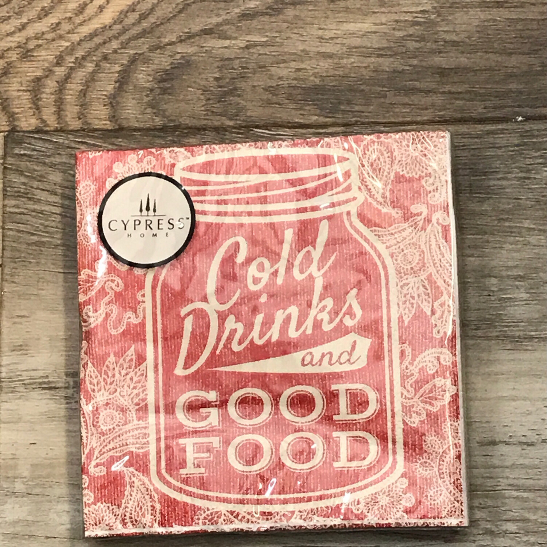Cold Drinks, Good Food 20ct
