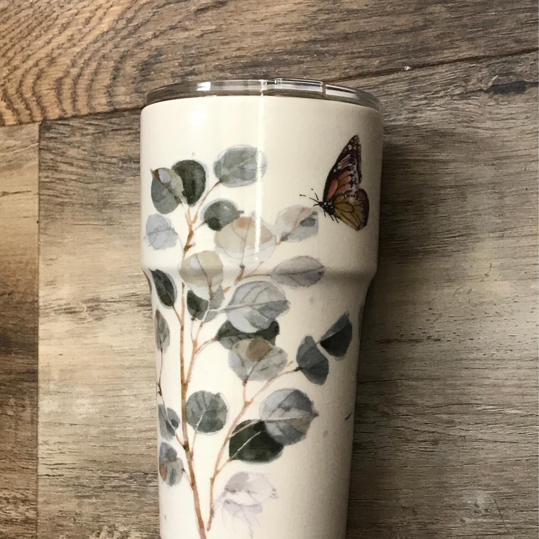 Botanical Ceramic Tumbler