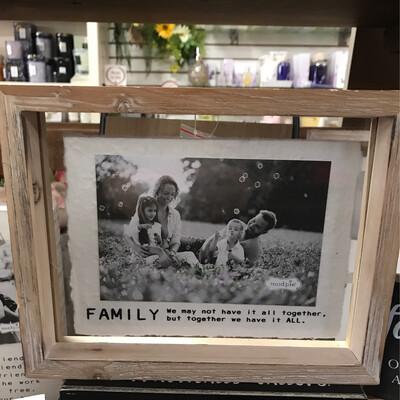 5 x 7 Family Frame