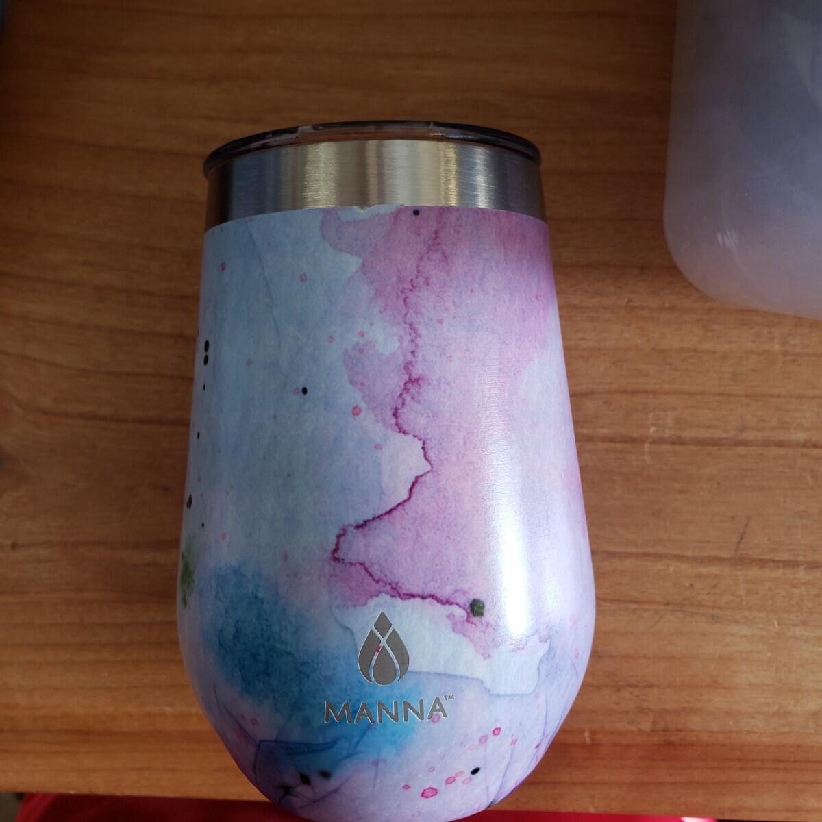 12oz Ink Spill Wine Tumbler