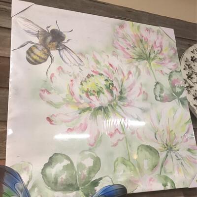 Honeybee Wall Canvas
