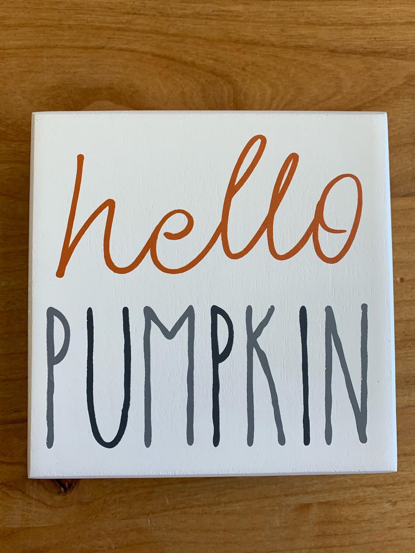 Hello Pumpkin Plaid