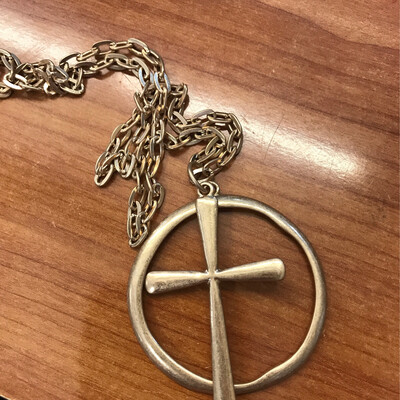 Cross & Loop Necklace