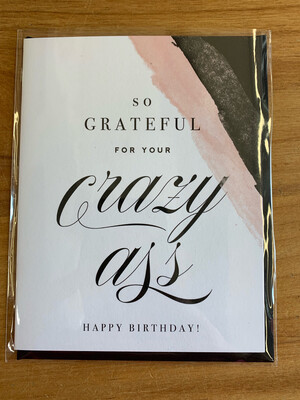 Grateful for your Crazy A...