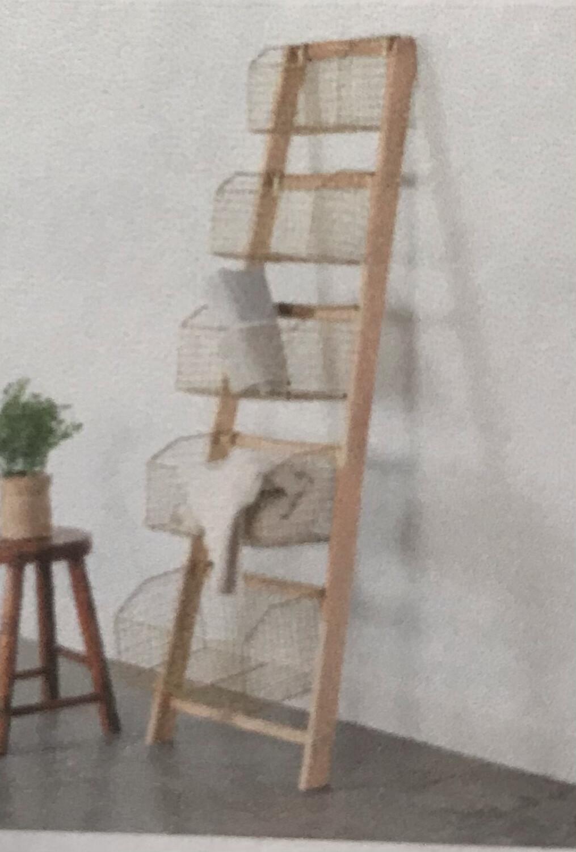 Gold Ladder Rack
