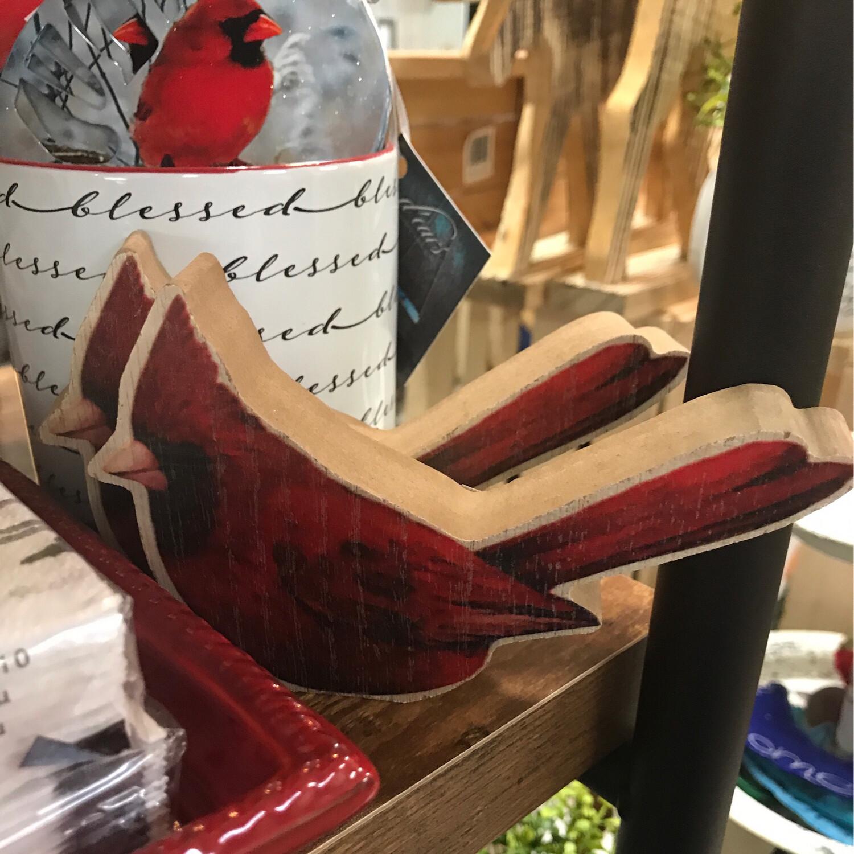 Chunky Cardinal Cutout
