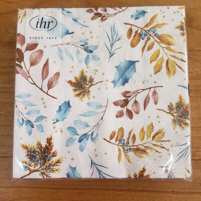 Warm Leaves Luncheon Napkins