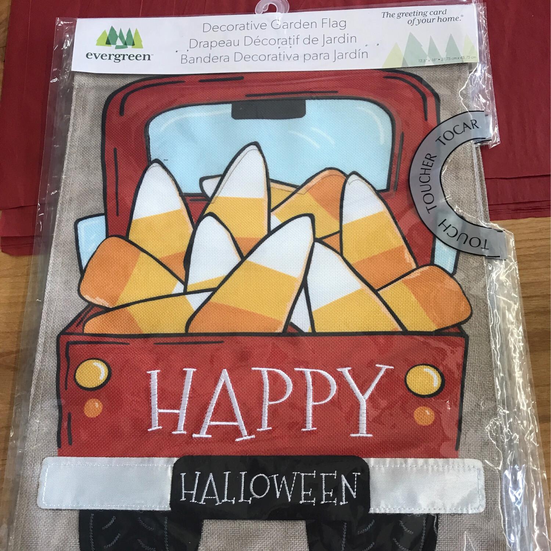 Candy Corn Truck Flag