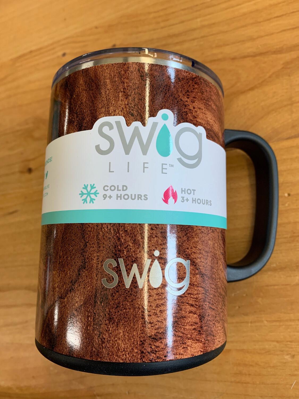 SWIG Black Walnut Mega Mug