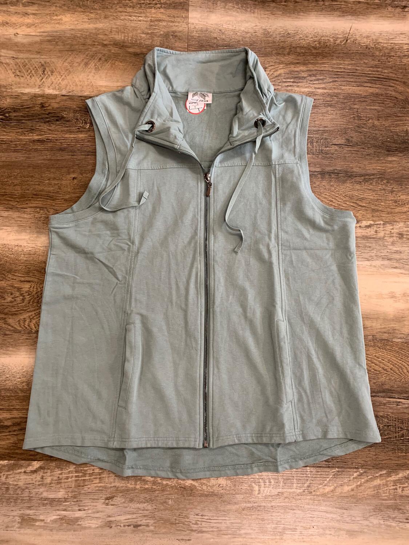 Zip Up Fall Vest