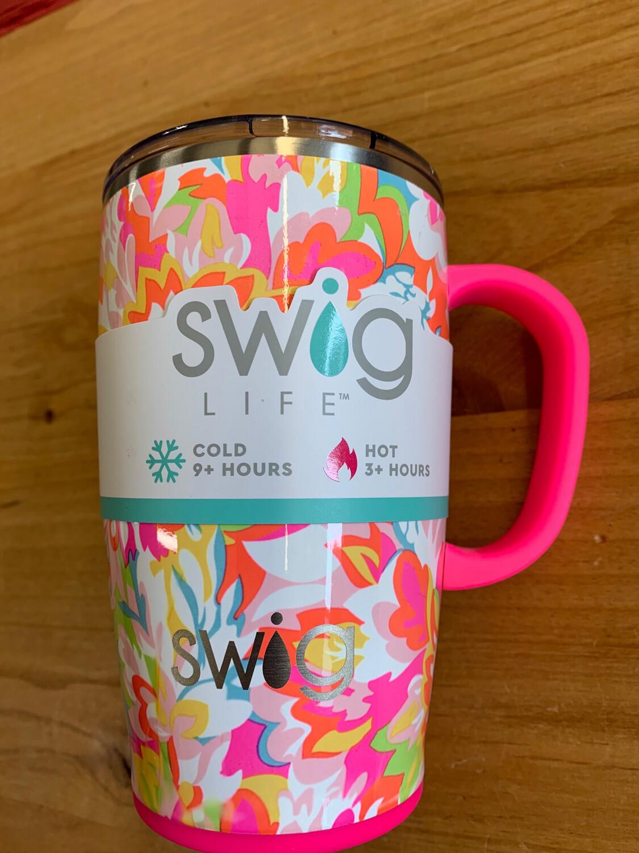 SWIG Hawaiian Punch Travel Mug