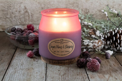 Limited Edition Sugarplum & Elderberry Candle