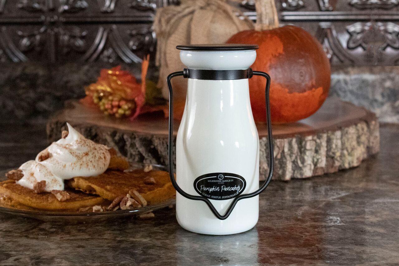 Pumpkin Pancakes Milk Bottle