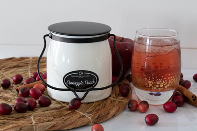 Cranapple Punch 16oz Butter jar