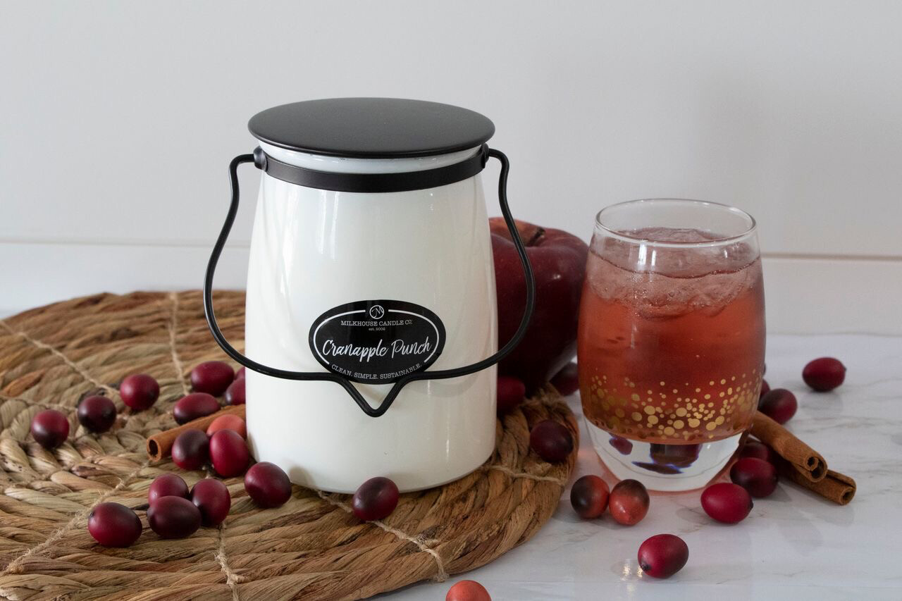 Cranapple Punch 22oz Butter Jar