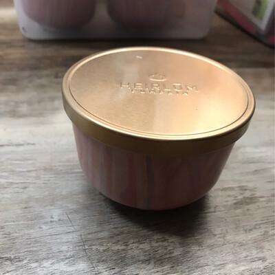 Heirlum Pumpkin Tin Candle