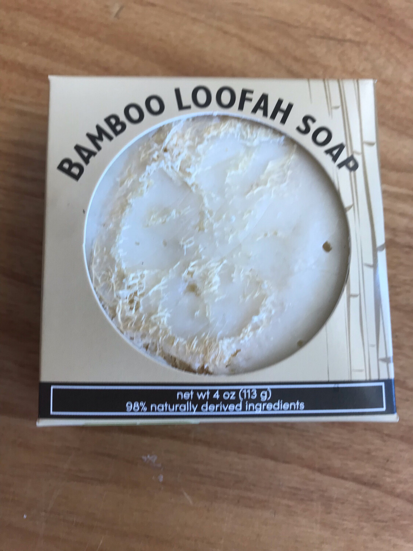 Bamboo Loofah Handmade Soap