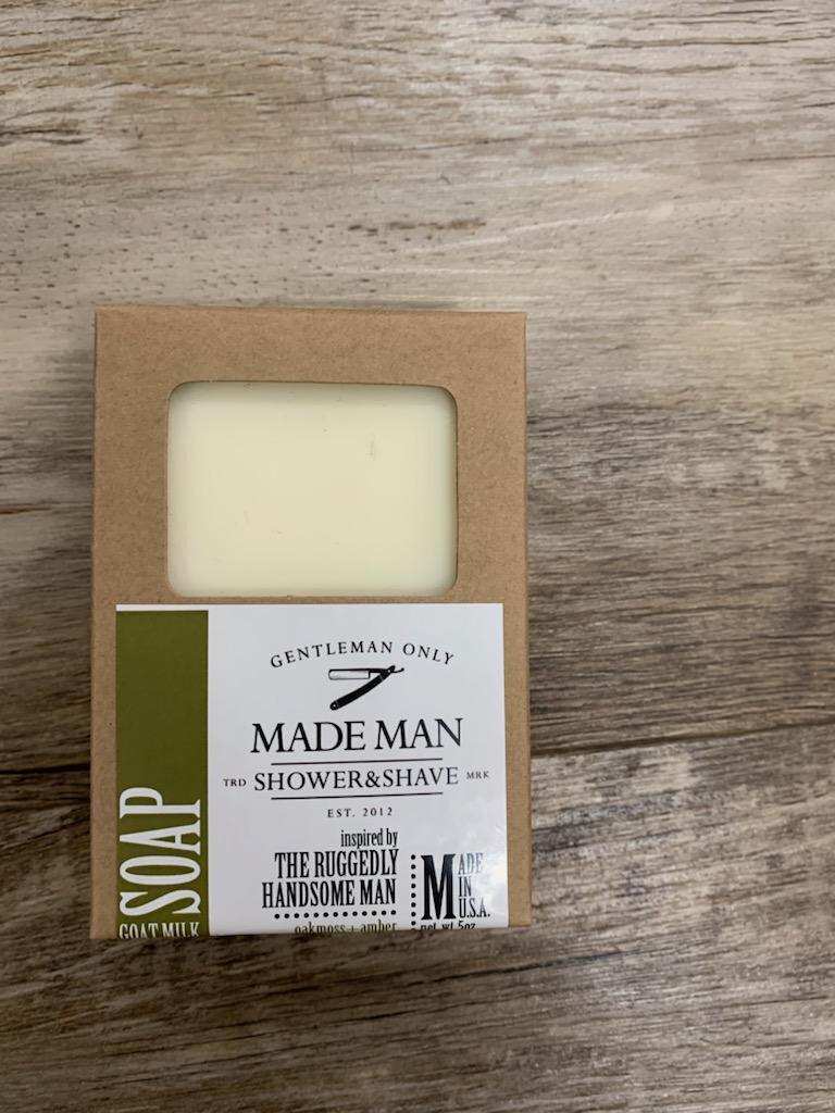 Manly Oakmoss+Amber Soap