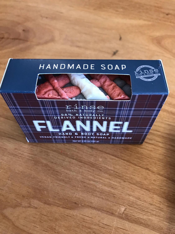 Flannel Handmade Soap